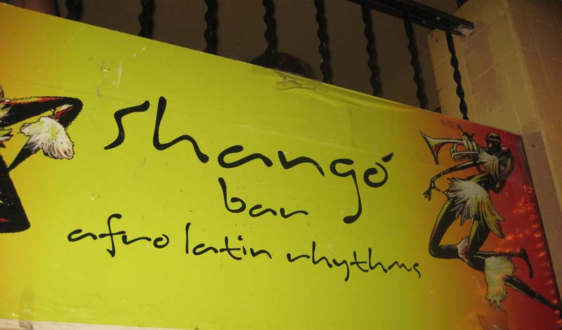 Barcelona's Shango Bar –  the latin way to lift your spirits