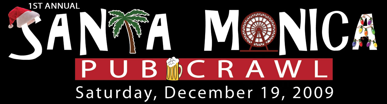 1st Annual SANTA Monica Pub Crawl