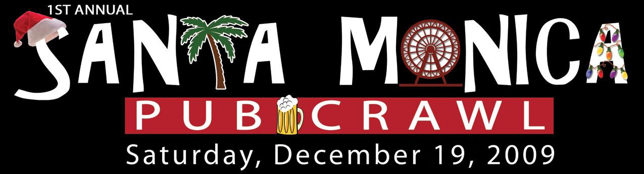 1st Annual SANTA Monica Pub Crawl