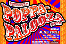 THE 1st ANNUAL POPPA-PALOOZA BBQ, MUSIC AND COMEDY FESTIVAL ON FATHER'S DAY JUNE 20th 2010 AT THE HISTORIC ROUNDHOUSE IN AURORA, IL