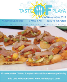 Taste of Playa Festival welcomes US Travel Channel host Mark DeCarlo
