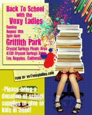 Back to School with BookPals and the Voxy Ladies