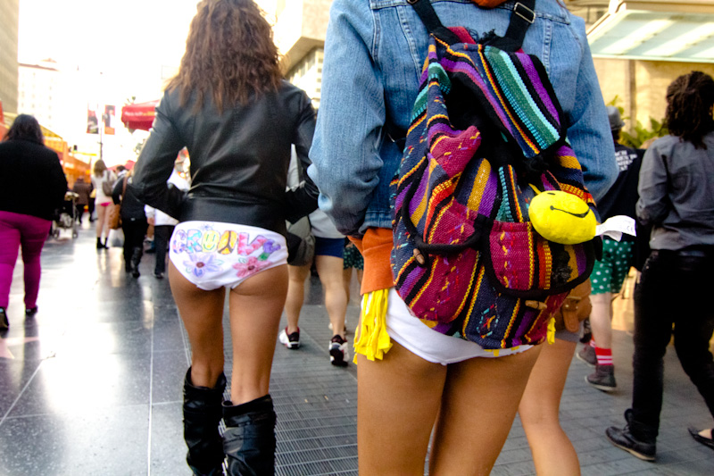 No Pants Subway Ride – LA