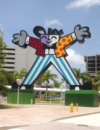 Britto's Welcome