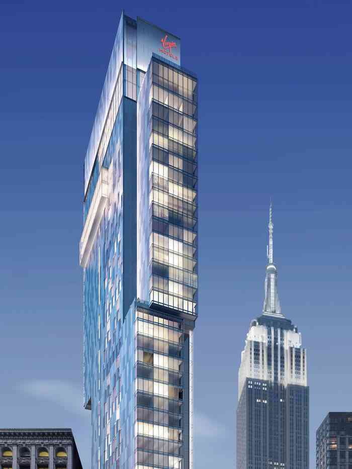 Greatest Update: NYC to Add World's 2nd Virgin Hotel